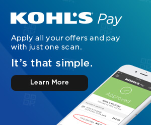then simply bring a valid photo id and your confirmation email to the kohls crossroads store customer service desk to receive your items